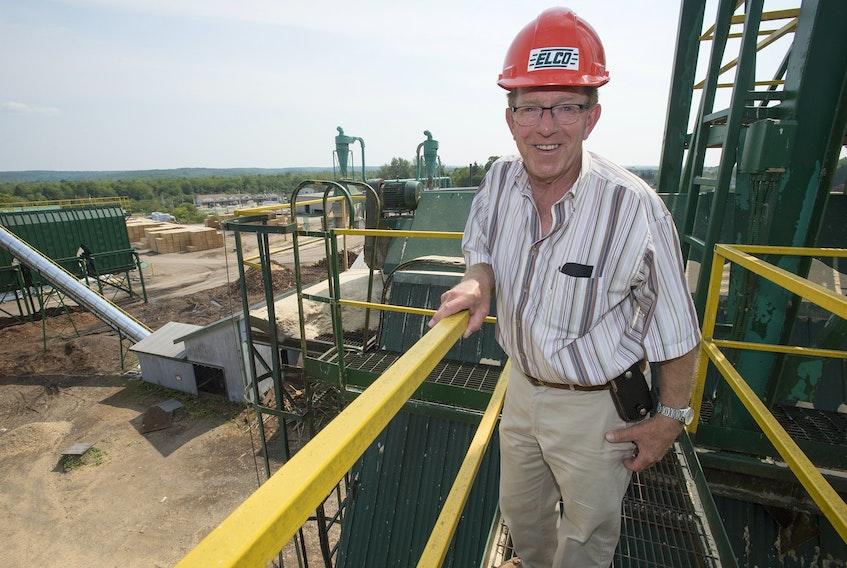 Robin Wilber, owner of Elmsdale Lumber Company.