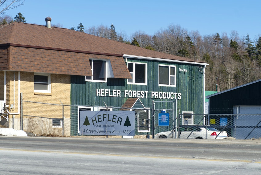 The Hefler Forest Products mill in Middle Sackville.  Ryan Taplin - The Chronicle Herald