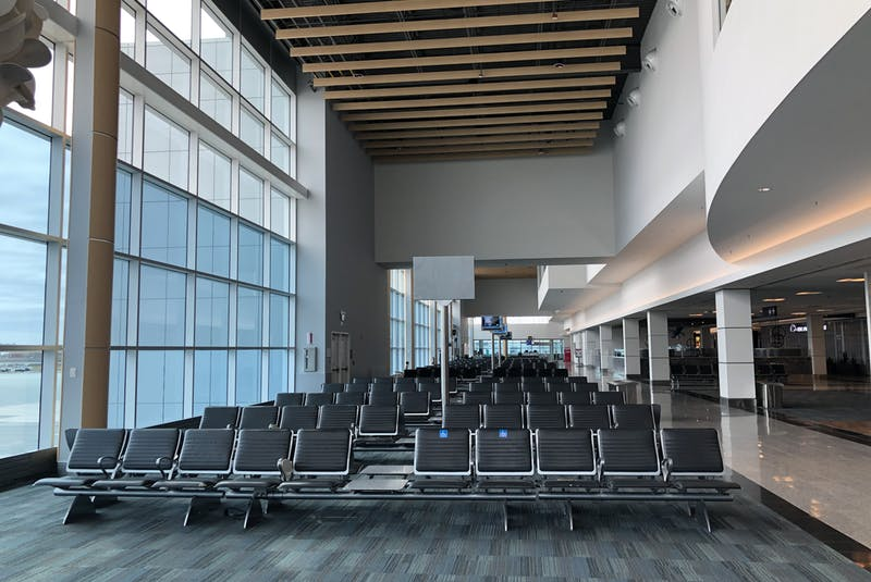 Passenger traffic at the Halifax Stanfield International Airport was at historic lows even before the ban on non-essential travel.  - Contributed/File