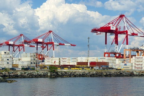 The PSA Halifax container terminal on Friday, August 14, 2020. Ryan Taplin - The Chronicle Herald