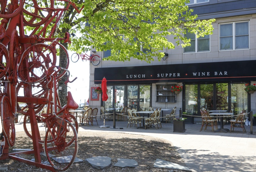 May 28, 2020—Photo of the Bicycle Thief and its outside patio. To go with stoy on restaurant patios and social distancing in the age of COVID-19. ERIC WYNNE/Chronicle Herald