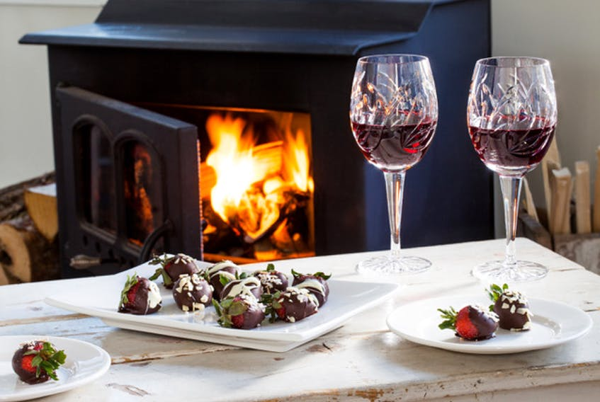 A cozy, fireside snack at Oceanstone Seaside Resort, Indian Harbour– The Chronicle Herald file