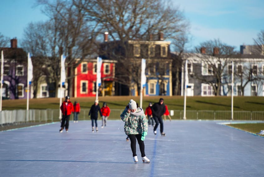 Planning to glide around the oval today? If you prepare, it's a winter treat. -Ryan Taplin/SaltWire Network File