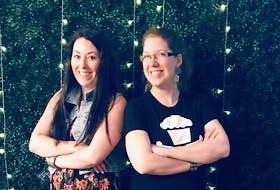 Creative Kick organizers Shannon Ellis, right, and Alison Knott. - Contributed