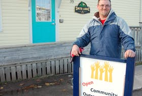 Cory Morrisey, 40, of Charlottetown has been homeless for the past four years. He spends eight to 10 hours a day at the Outreach Centre but says he is is concerned with a considerable downturn in the operation in recent months.
