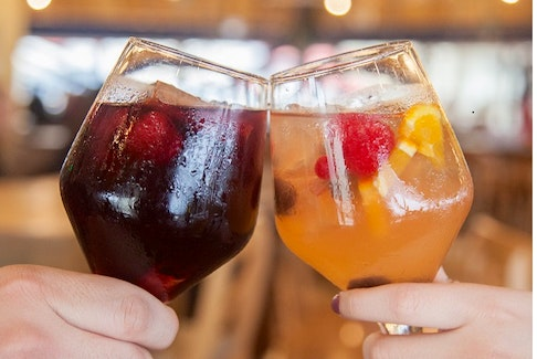 """If you're eager to say """"Olé"""" to sangrias, Becky Mowat with John's Home Brew Store says the """"Red Isle Sunset Sangria"""" is a favourite that can be made dry or sweet. Visit johnshomebrewstorepei.ca/fabulous-wine-recipe-creations for full recipes. - Photo Contributed."""