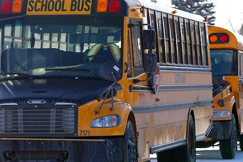 File photo of an Alberta school bus.