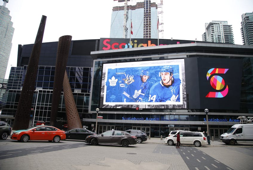 Scotiabank Arena will host many NHL playoff games after Toronto was named one of the two Hub Cities, along with Edmonton.
