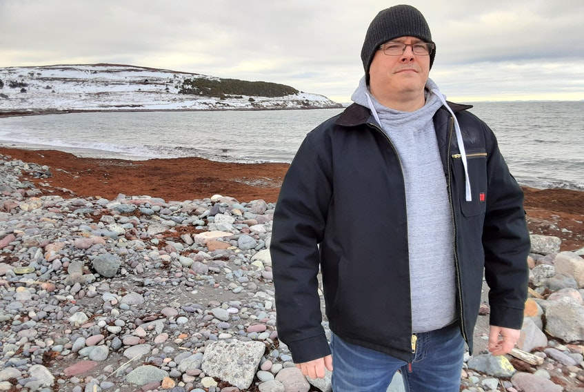 For Dave Noseworthy of Grand Bank, seeking mental health help was a catch-22 situation — getting help medically had a negative impact on his employment. PAUL HERRIDGE/THE TELEGRAM