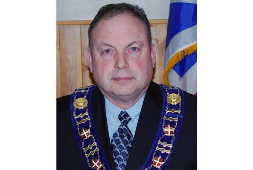 St. Lawrence Mayor Paul Pike
