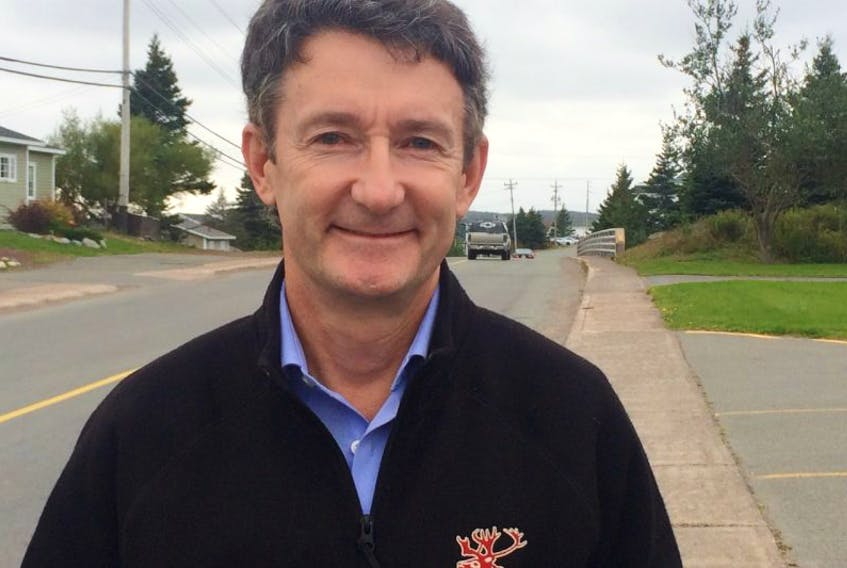 Pete Soucy was on the Burin Peninsula last week visiting communities around the region. During his time in the area, Soucy, who is running for the Liberal nomination in Burin-Bonavista-Trinity, met with various groups and businesses, including Grieg NL.