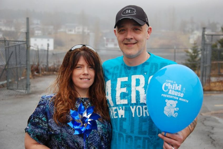 Wally Pittman with the support of his girlfriend Conetta Wakeley has organized the first annual Miles for Smiles Awareness Walk.