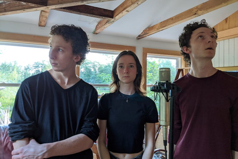 The Gilberts, a.k.a. Hants County siblings Reuben, Maisie and Friedan Gilbert, earned a 2021 Canadian Folk Music Award for the debut release One during the virtual event on the weekend. - The Gilberts