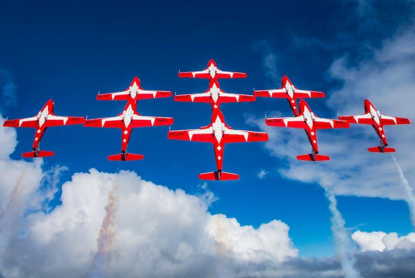 Canadian Forces Snowbirds.