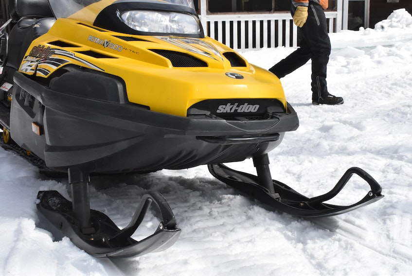 Last month, a large number of close calls spurred the P.E.I.Snowmobile Association to caution people from walking on the Confederation Trail while it is leased and groomed by the association. Alison Jenkins/Journal Pioneer