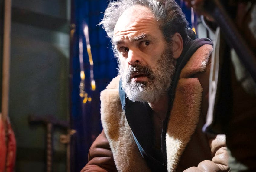 Steven Ogg as Pike in Snowpiercer. Photo by Justina Minz. ORG XMIT: ECP22410.RAF