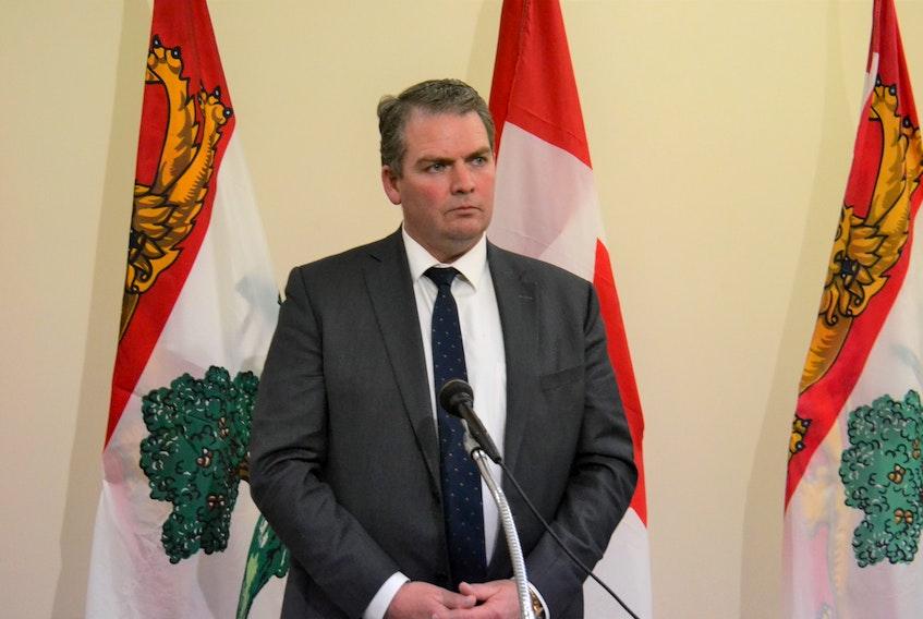 P.E.I. Justice Minister Bloyce Thompson