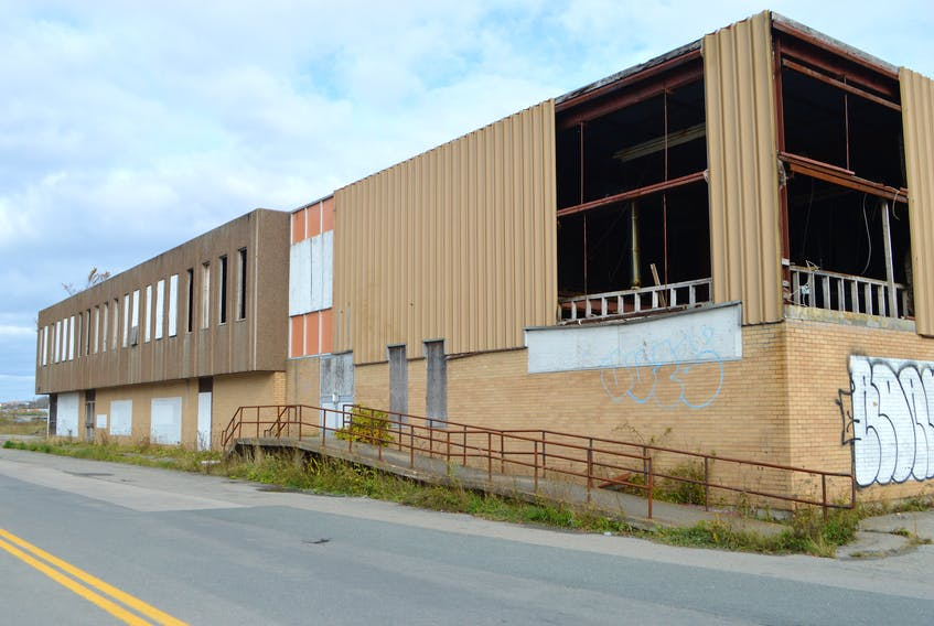 The derelict Sydney train station building constructed in 1971, which served as the eastern terminus for VIA Rail passenger service until the Sydney-Truro route was axed in 1990.  The building, vacant for years, is in process of being sold to DORA Construction, a Nova Scotia company with an office in Sydney. Sharon Montgomery-Dupe/Cape Breton Post