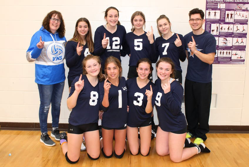 Southwest Fusion U15 girls after winning tier 2 Super Series tournament at West Kings Regional High School. JOLYNN MUISE/CONTRIBUTED PHOTO