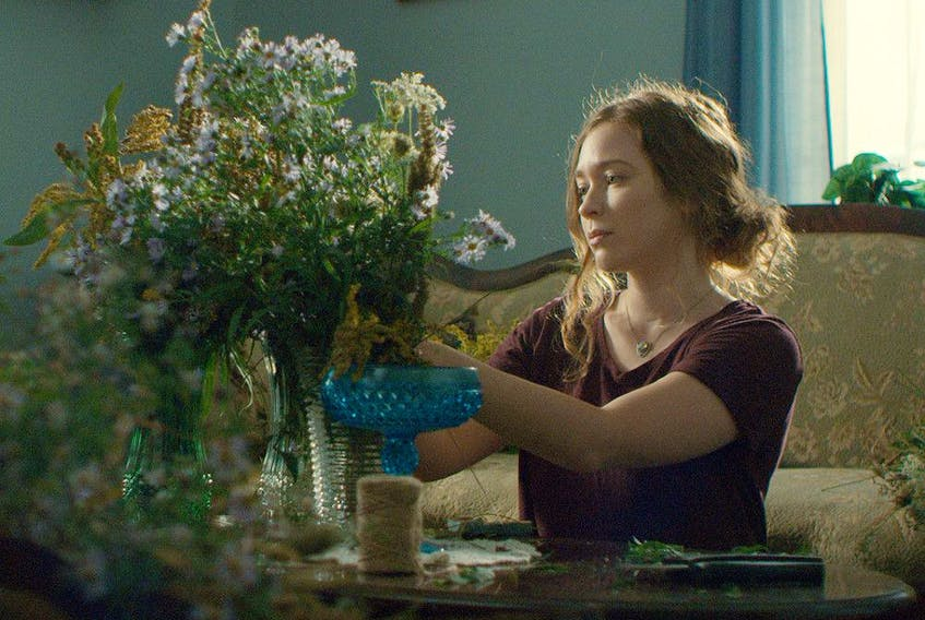 Sofia Banzhaf stars as Belle, struggling to keep secrets from her family in Splinters.