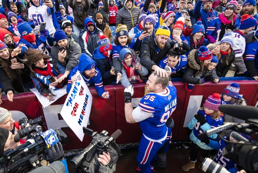 Thousands of Canadians usually are in the crowd at Buffalo Bills home games in Orchard Park, N.Y.