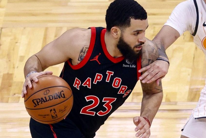 Toronto Raptors guard Fred VanVleet.