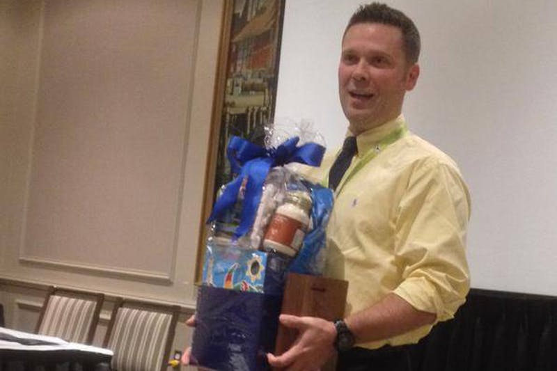 French Second Language Educator of the Year award winner, Jason Belliveau Wood. - Contributed
