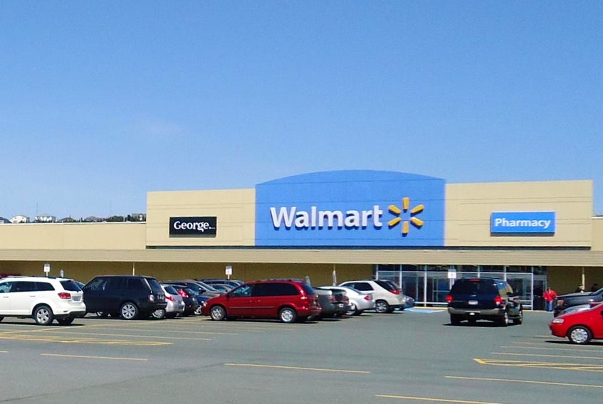 Walmart is going to close its Topsail Road location in St. John's. — Crombie REIT photo