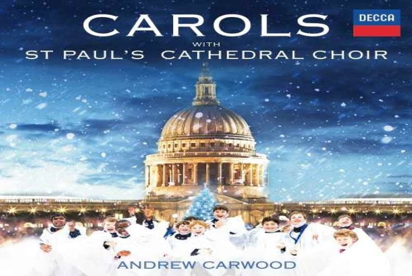 """Carols with St. Paul's Cathedral Choir"""" This is abrand new recording from London's oldest and finest cathedral choir, a choir dating back to 1127."""