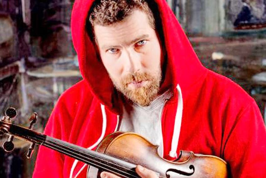 Ashley MacIsaac will bring his show, Celtic Christmas with Ashley MacIsaac and Friends, to Trinity United Church in Charlottetown on Friday, Dec. 15 at 7:30 p.m.  SUBMITTED PHOTO