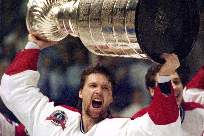 """""""(Patrick) Roy was what most of these 20 playoff games were all about — which is why he takes home the Conn Smythe Trophy as the most valuable player in the playoffs,"""" Red Fisher wrote in the Montreal Gazette after the Canadiens won their 24th Stanley Cup on June 9, 1993."""
