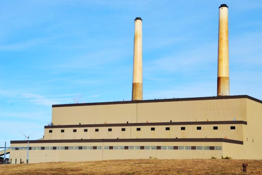 The Lingan generating station is pictured on Monday, March 17, 2014.