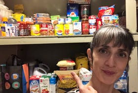 Karla Hayward of Mount Pearl was ready for Snowmaggedon when it hit, and she's ready for coronavirus if and when it arrives. PETER JACKSON/THE TELEGRAM