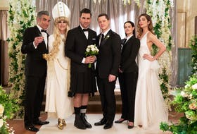 Schitt's Creek wrapped up its final season this year on CBC. Netflix viewers will get a chance to finish the show when it comes to the platform in October.CBC