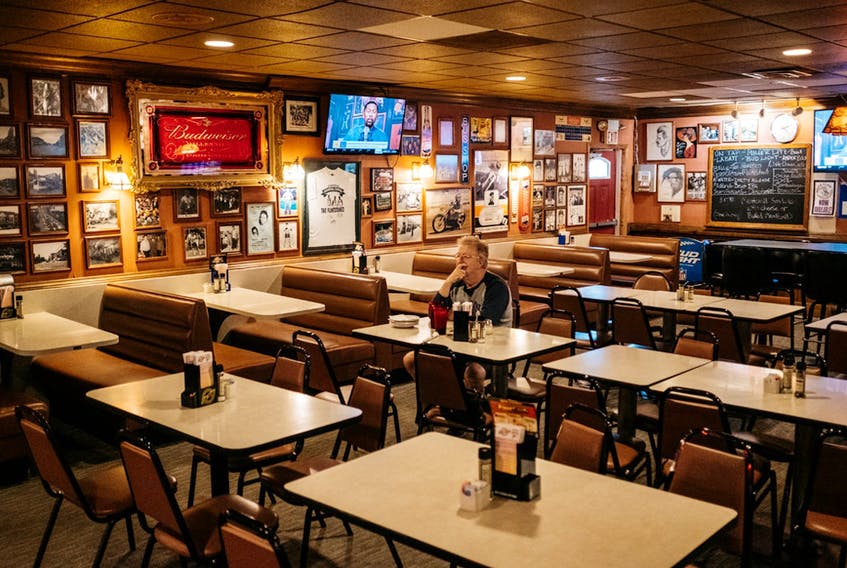Margins are already thin at most restaurants, and adding in the lockdown makes it tough for an owner to keep the business going. A slow re-opening isn't helping them.