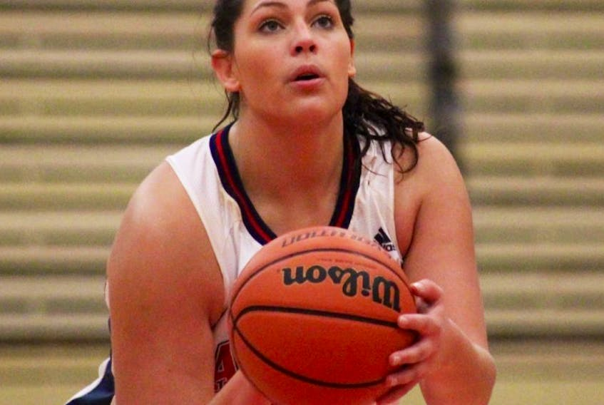 Third-year forward Allie Berry had 17 points and seven rebounds for Acadia in a 77-74 loss to Ottawa in the opener of the Mickey Place tournament Oct. 16 at UPEI. The Axewomen trailed by 13 at halftime, but came back to win the second half by 10.