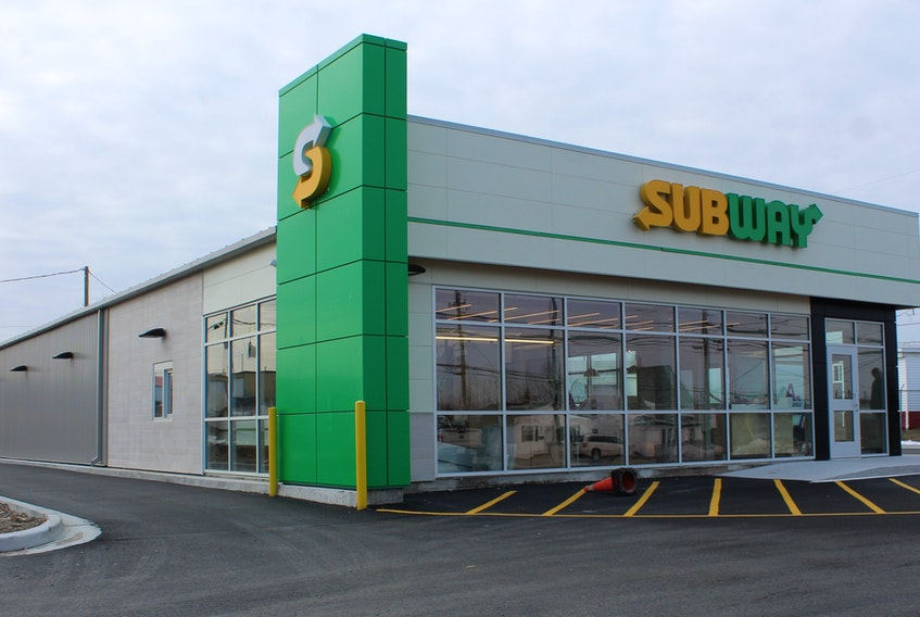 The new flagship location for Subway Cape Breton is set to open on Jan. 27 on Grand Lake Road. GREG MCNEIL/CAPE BRETON POST