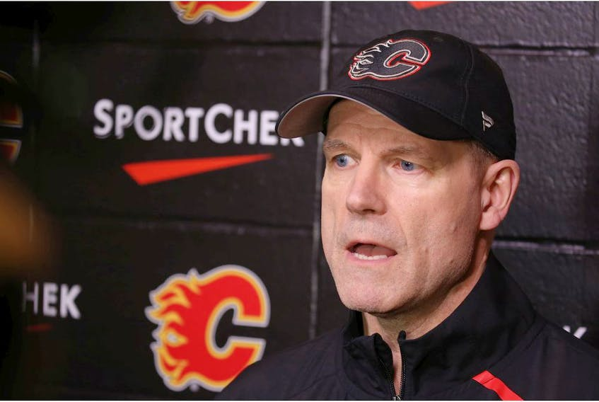 Calgary Flames head coach Geoff Ward won a Stanley Cup as a member of the Boston Bruins coaching staff back in 2011.