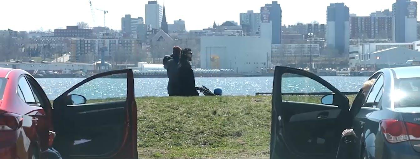 Video of a sunny nova Scotia during the social distancing era.
