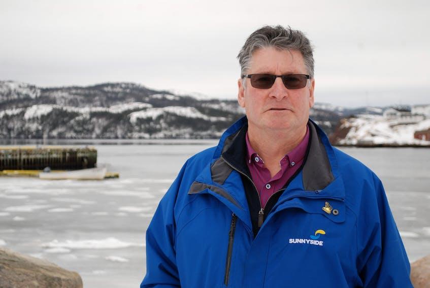 Gerald Snook, Mayor of Sunnyside. JONATHAN PARSONS PHOTO