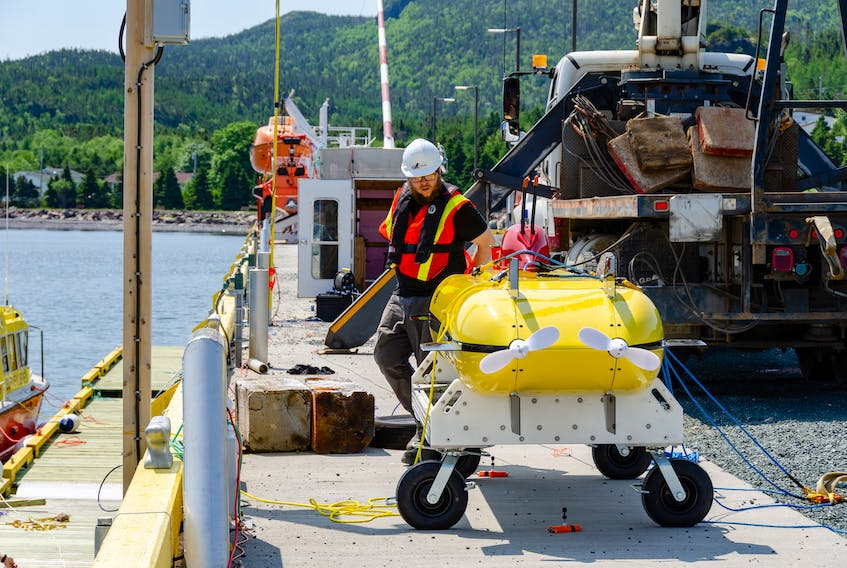 ThunderFish is Kraken's Autonomous Underwater Vehicle (AUV) in development for use in the offshore oil industry.