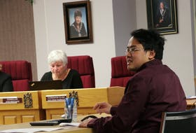 Hubert Hu crunched the numbers and presented the amalgamation survey results on Jan. 27 to the coordinating committee in charge of merging Windsor and West Hants. CAROLE MORRIS-UNDERHILL