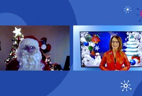 SaltWire's chief meteorologist Cindy Day interview Santa Claus, live over video conference from the North Pole.