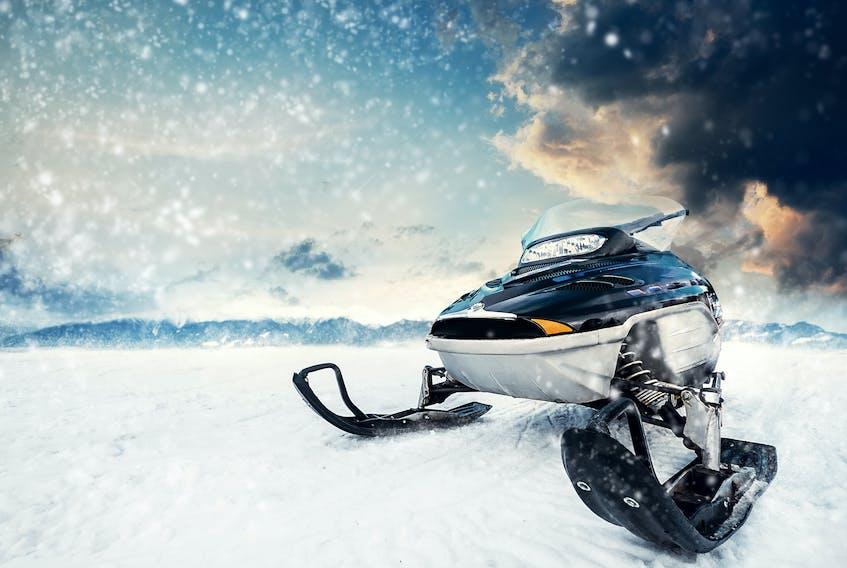 Snowmobile STOCK