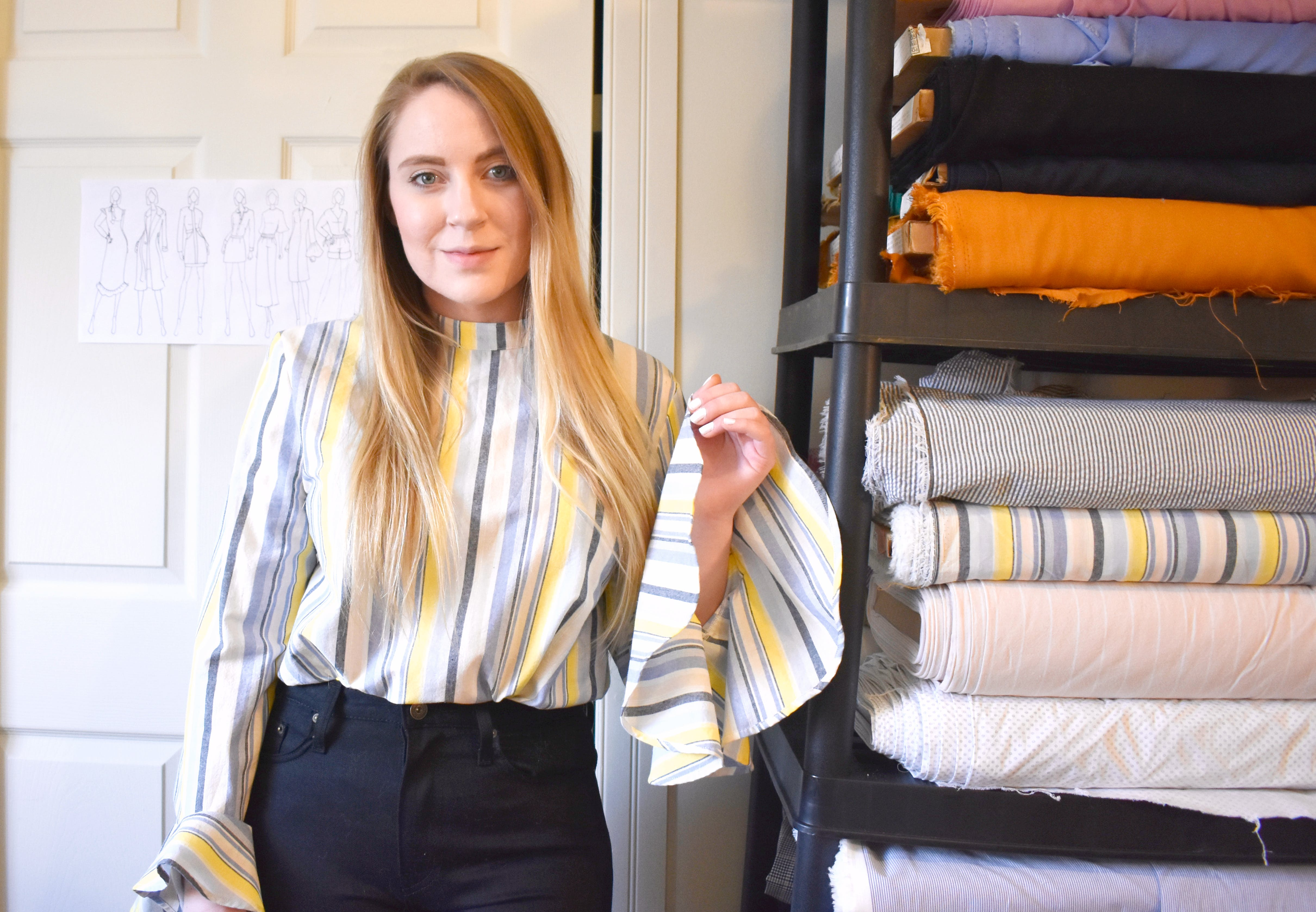 Kelsey MacDonald, a fashion designer based in Halifax, says COVID-19 helped her realize the importance of having an online store for her brand.