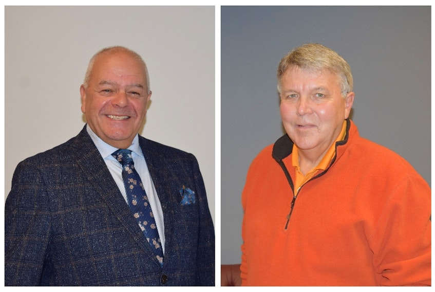 Terry Baillie, left, and Bill Mills are competing to lead the Town of Truro.