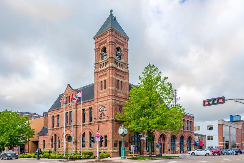 Charlottetown City Hall.