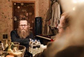 Halifax-based musician Ben Caplan- Jamie Kronick/Postmedia