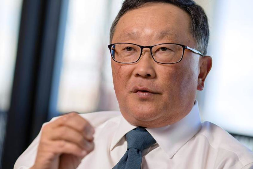 BlackBerry CEO John Chen said growth being driven almost entirely by software and licensing is a clear mark that the company's turnaround is over, and a new phase is underway. - Darren Brown