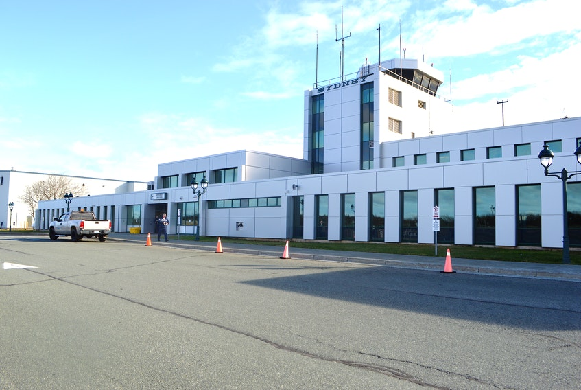 The J.A. Douglas McCurdy Sydney Airport hasn't had air service as of Jan. 11, 2021. Sharon Montgomery-Dupe/Cape Breton Post